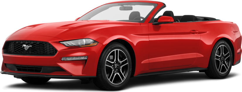 Used 2020 Ford Mustang EcoBoost Premium Convertible 2D Prices | Kelley Blue Book