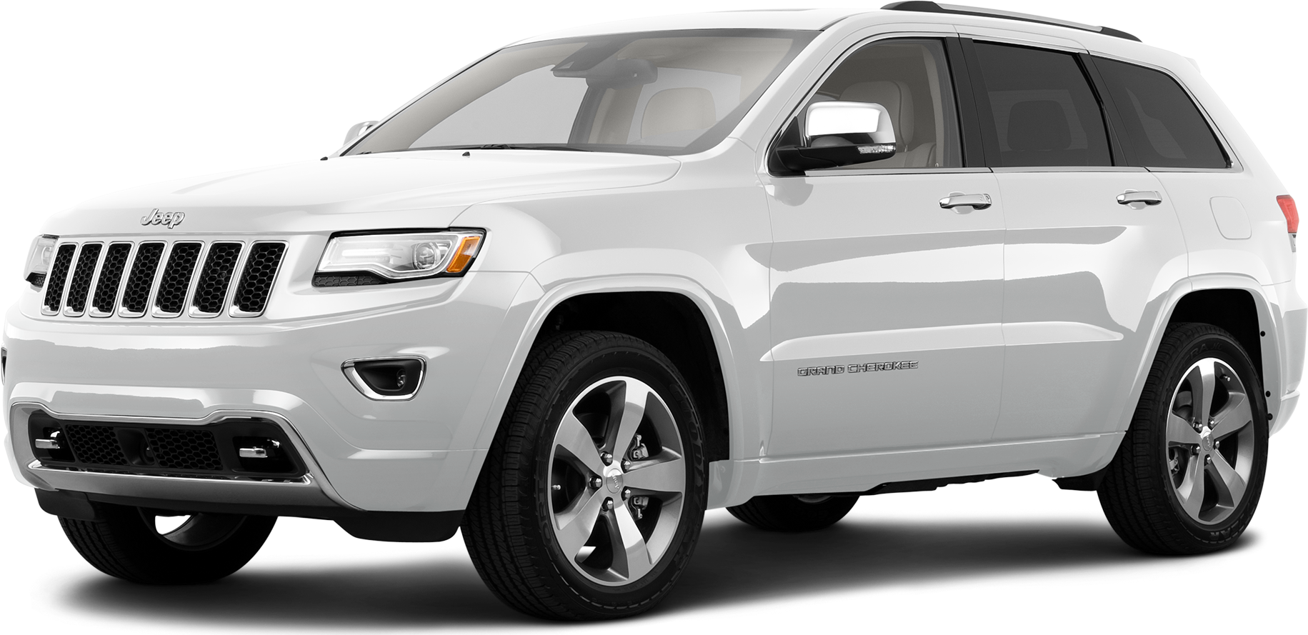 Used 2014 Jeep Grand Cherokee Overland Sport Utility 4d Prices Kelley Blue Book