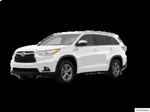 Used 2014 Toyota Highlander Values Cars For Sale Kelley Blue Book