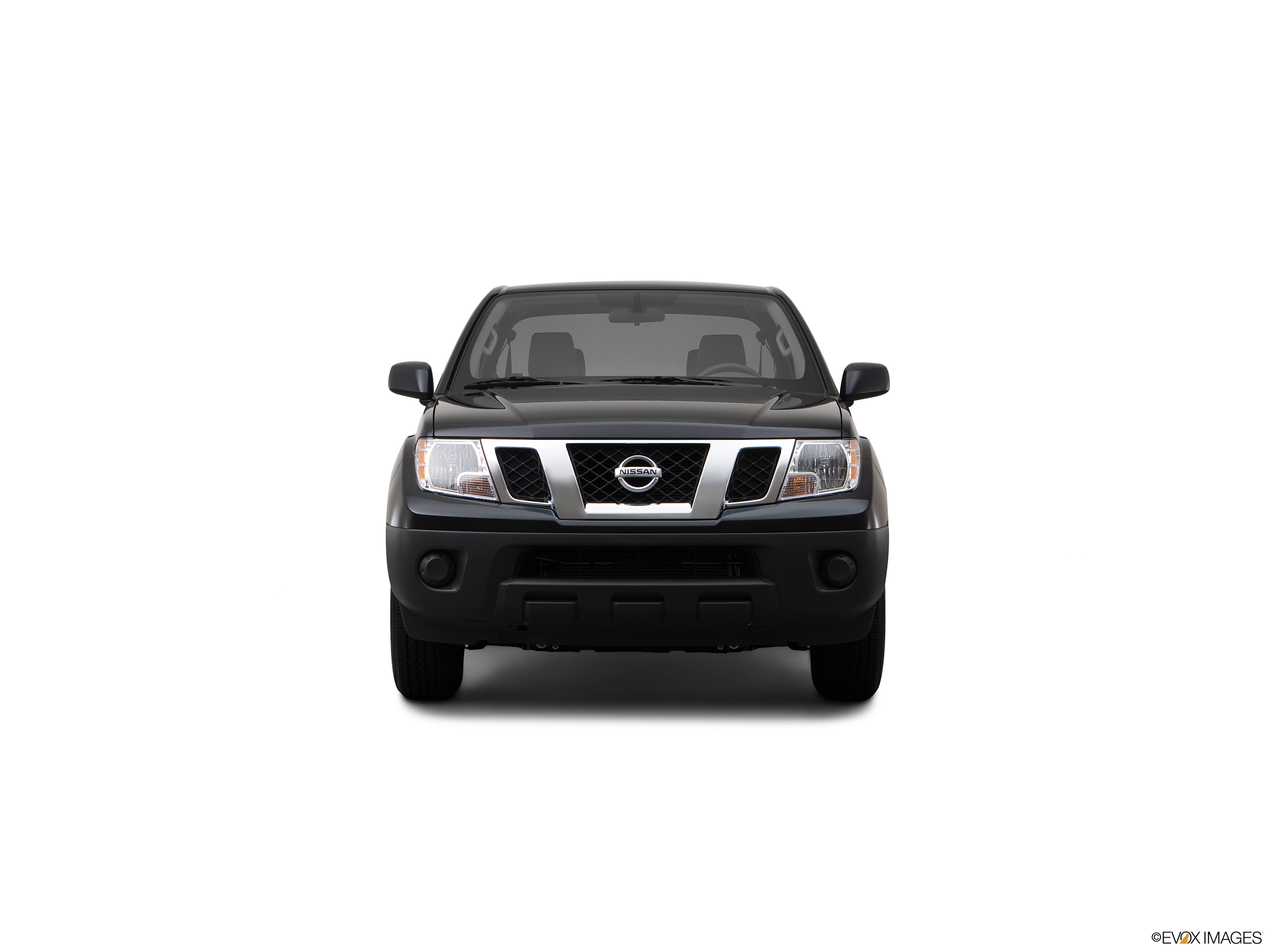 Driver side WITH install kit 2014 Nissan FRONTIER KING CAB Post mount spotlight -Black 6 inch 100W Halogen