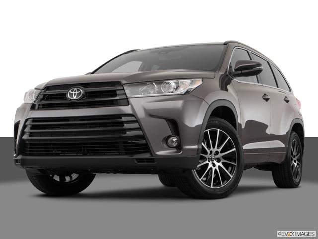 2018 Toyota Highlander Values Cars For Sale Kelley Blue Book