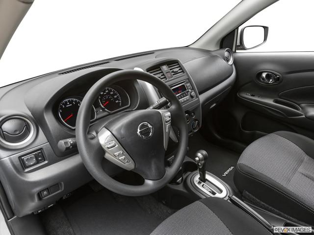 Red Nissan Versa 2018