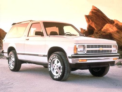 1992 Chevrolet S10 Blazer Prices, Reviews & Pictures ...