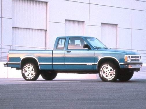 Used 1992 Chevrolet S10 Extended Cab Short Bed Prices Kelley Blue Book