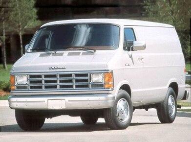 1992 Dodge Ram Van B250 | Pricing, Ratings, Expert Review