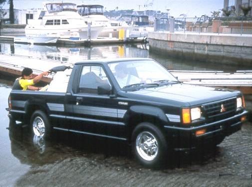 1992 Mitsubishi Mighty Max Regular Cab   Pricing, Ratings, Expert