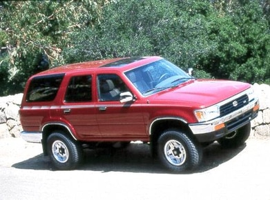 1992 Toyota 4Runner | Pricing, Ratings, Expert Review