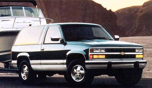 1993 Chevrolet Blazer | Pricing, Ratings, Expert Review