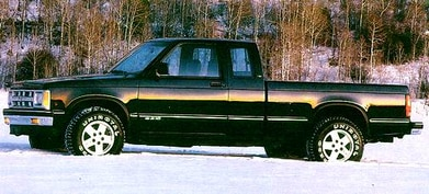 1993 Chevrolet S10 Extended Cab Pricing Reviews Ratings