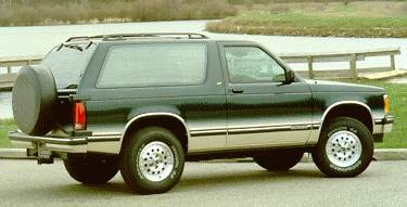 1994 Chevrolet S10 Blazer Pricing Ratings Expert Review