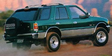 1994 Isuzu Rodeo | Pricing, Ratings, Expert Review | Kelley Blue Book