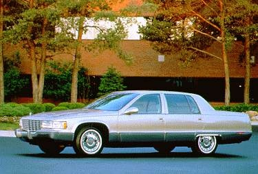 1995 Cadillac Fleetwood >> 1995 Cadillac Fleetwood Pricing Ratings Expert Review