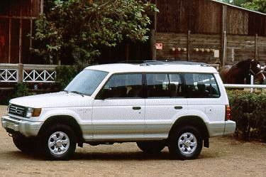1995 Mitsubishi Montero | Pricing, Ratings, Expert Review | Kelley