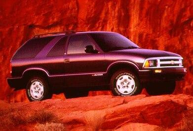 1996 Chevrolet Blazer Pricing Reviews Ratings Kelley