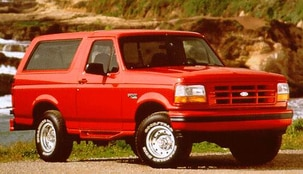 1996 Ford Bronco Values Cars For Sale Kelley Blue Book