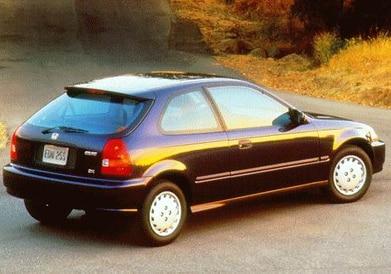 1997 Honda Civic Pricing Reviews Ratings Kelley Blue Book