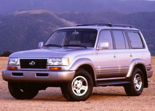 1997 Lexus LX | Pricing, Ratings, Expert Review | Kelley Blue Book