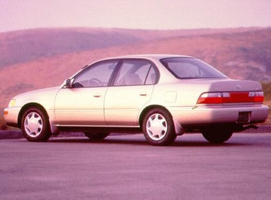1997 Toyota Corolla   Pricing, Ratings, Expert Review
