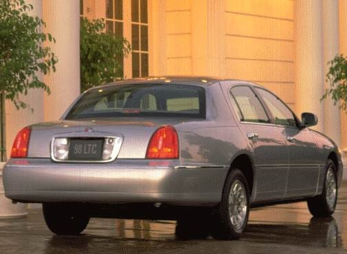 1998 Lincoln Town Car Pricing Reviews Ratings Kelley