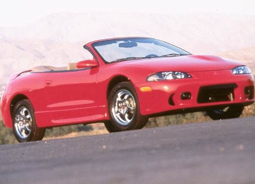 used 1998 mitsubishi eclipse gs t spyder convertible 2d prices kelley blue book used 1998 mitsubishi eclipse gs t