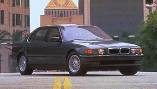 Used 1999 Bmw 7 Series 740il Sedan 4d Prices Kelley Blue Book