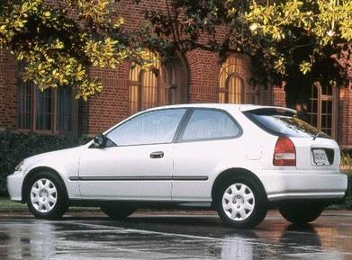 1999 Honda Civic Pricing Reviews Ratings Kelley Blue Book