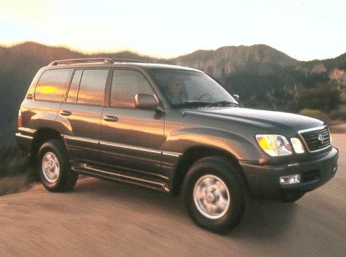 2000 Lexus LX | Pricing, Ratings, Expert Review | Kelley Blue Book
