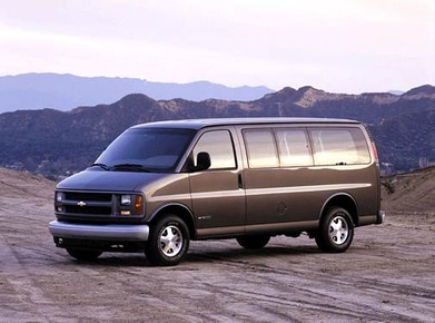 Used 2001 Chevrolet Express 2500 Passenger Values Cars For Sale