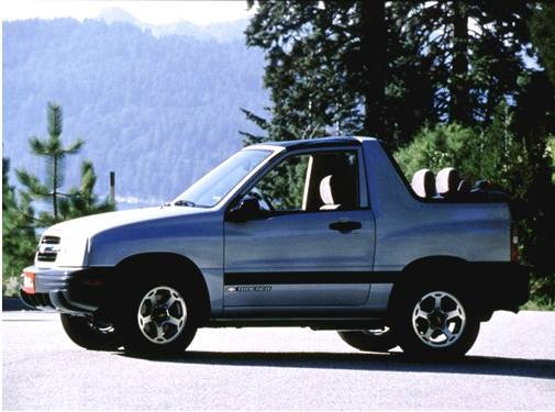 2001 Chevrolet Tracker Values Cars For Sale Kelley Blue Book