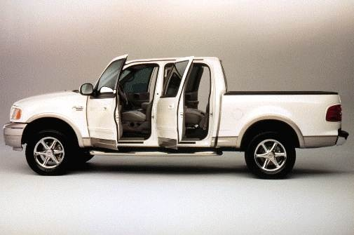 2001 Ford F 150 Supercrew Cab >> 2001 Ford F150 Pricing Reviews Ratings Kelley Blue Book
