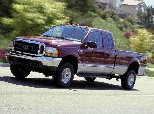 2001 Ford F250 Super Duty Super Cab Pricing Ratings