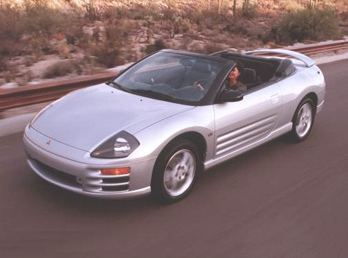 Used 2001 Mitsubishi Eclipse Gt Spyder Convertible 2d
