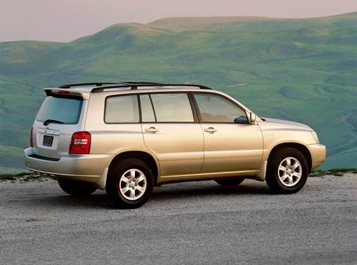 2001 Toyota Highlander | Pricing, Ratings, Expert Review | Kelley