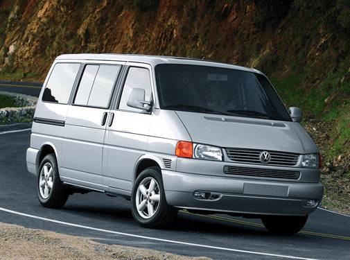 2001 Volkswagen Eurovan   Pricing, Ratings, Expert Review   Kelley