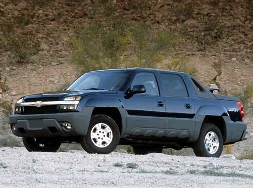 2002 Chevrolet Avalanche 1500 | Pricing, Ratings, Expert