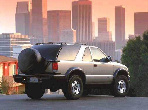 2002 Chevrolet Blazer | Pricing, Ratings, Expert Review