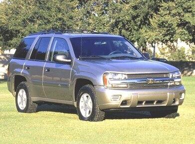 2002 Chevrolet Trailblazer Pricing Reviews Ratings