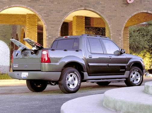 2002 Ford Explorer Sport Trac | Pricing, Ratings, Expert