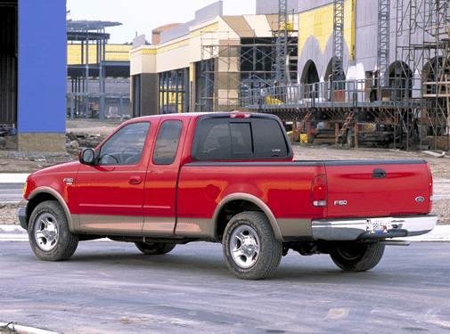 2002 Ford F150 Super Cab | Pricing, Ratings, Expert Review