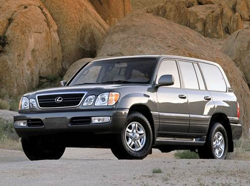 2002 Lexus LX | Pricing, Ratings, Expert Review | Kelley Blue Book