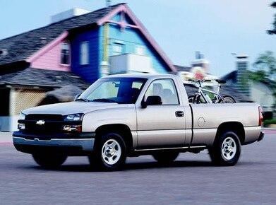 2003 Chevrolet Silverado 1500 Regular Cab Pricing Ratings