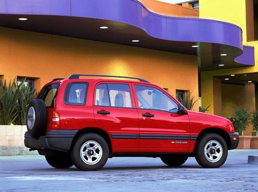 Used 2003 Chevrolet Tracker Sport Utility 4d Prices Kelley Blue Book