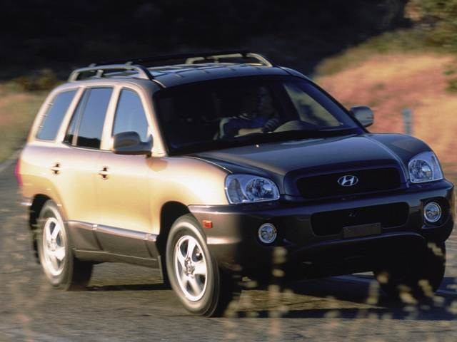 2003 Hyundai Santa Fe Pricing Ratings Expert Review Kelley