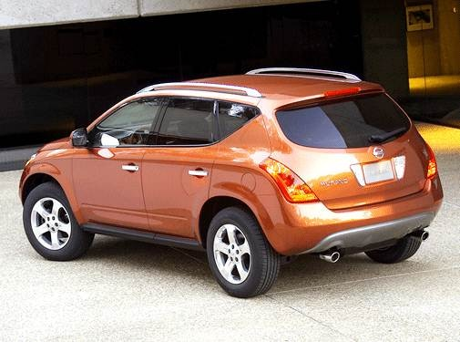 2003 Nissan Murano | Pricing, Ratings, Expert Review