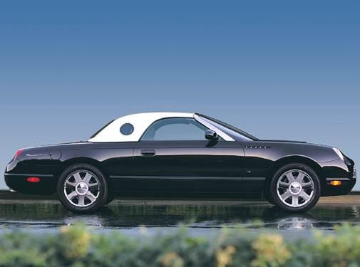 2004 Ford Thunderbird Pricing Reviews Ratings Kelley
