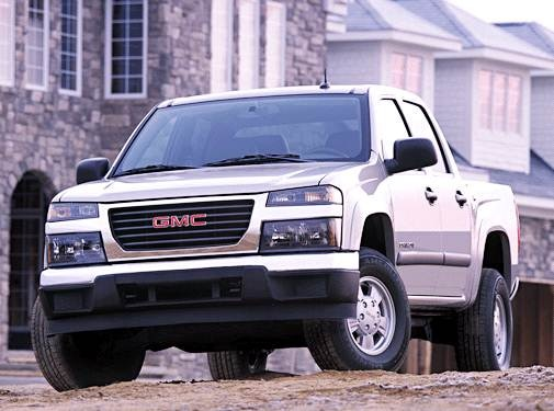 Used 2004 Gmc Canyon Crew Cab Sle Pickup 4d 5 Ft Prices