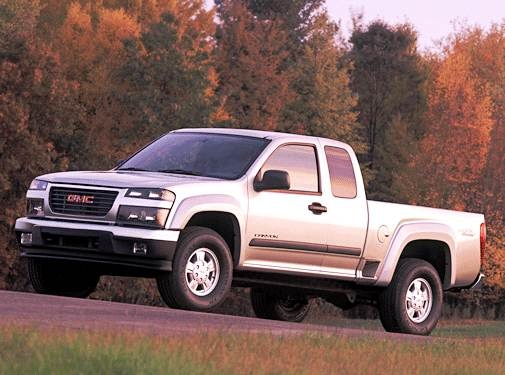 04 2004 GMC Canyon owners manual