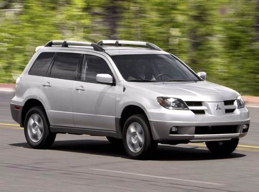 2004 Mitsubishi Outlander | Pricing, Ratings, Expert Review | Kelley