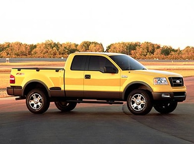 2005 Ford F150 Fx4 >> 2005 Ford F150 Super Cab Pricing Ratings Expert Review