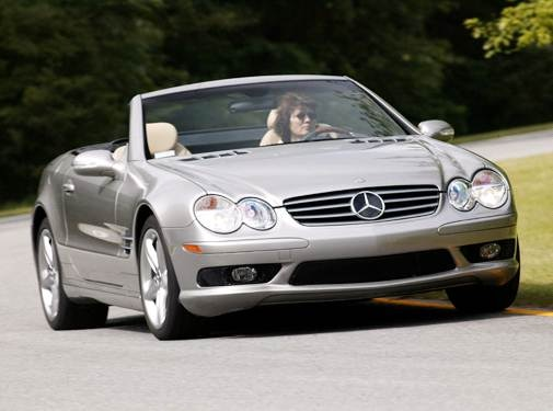 2005 Mercedes-Benz SL-Class   Pricing, Ratings, Expert Review